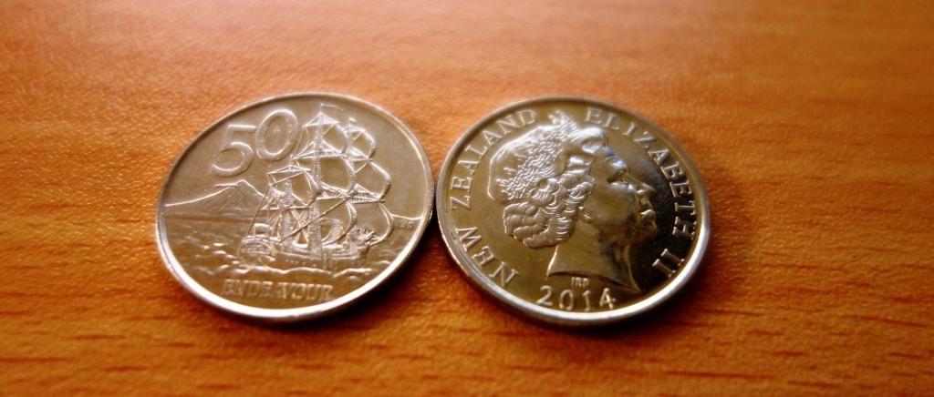 Der Neuseeländische Dollar: 50 Cents