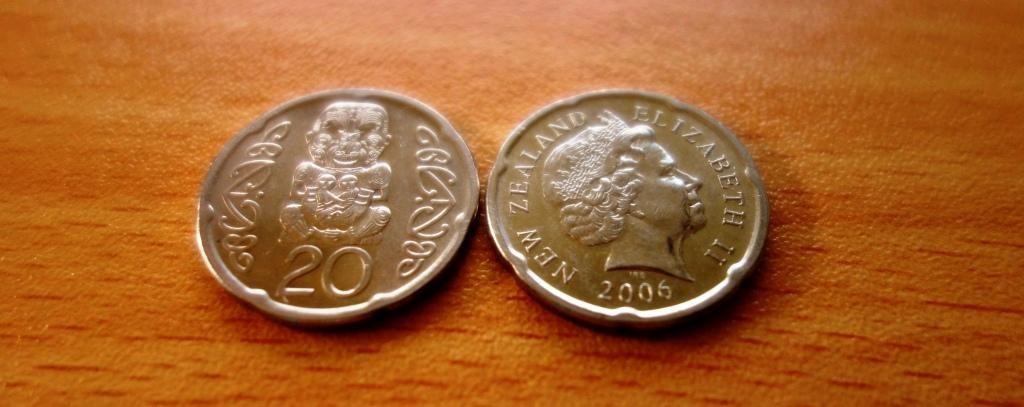 Der Neuseeländische Dollar: 20 Cents