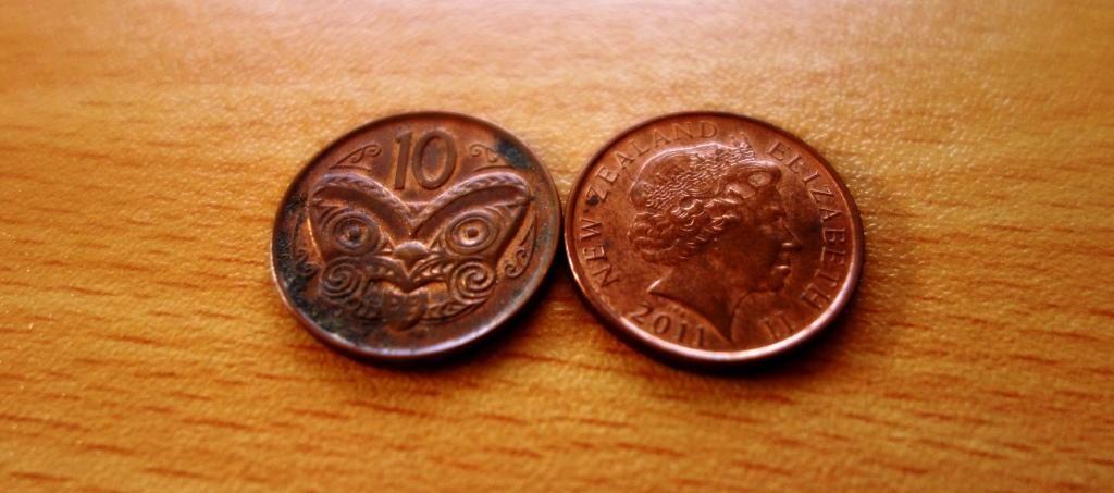 Der Neuseeländische Dollar: 10 Cents