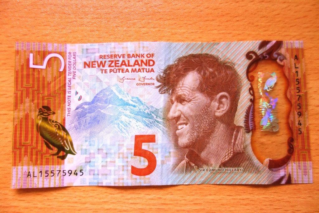 Der Neuseeländische Dollar: 5 Dollar