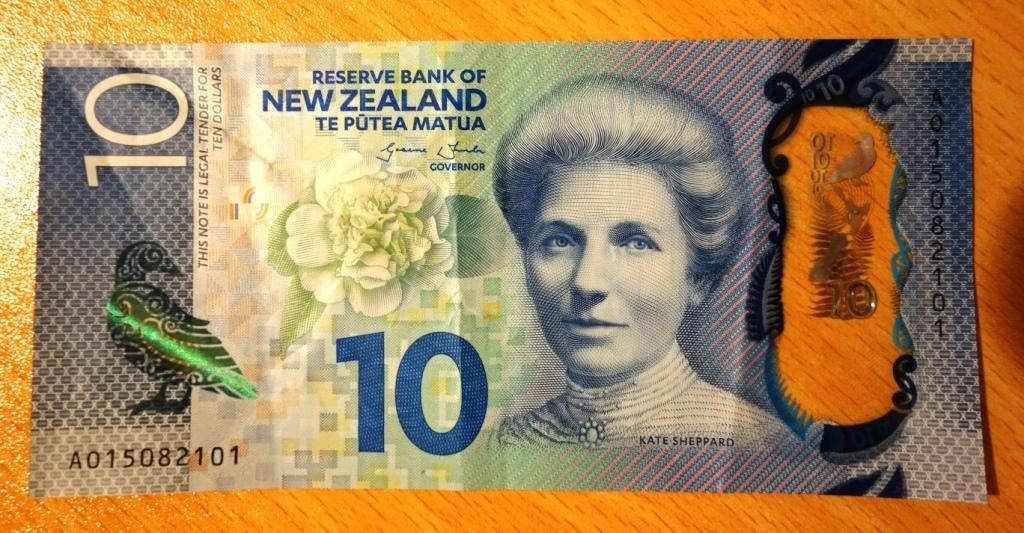 Der Neuseeländische Dollar: 10 Dollar