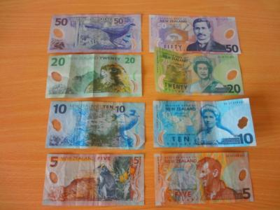 Der Neuseeländische Dollar: Scheine