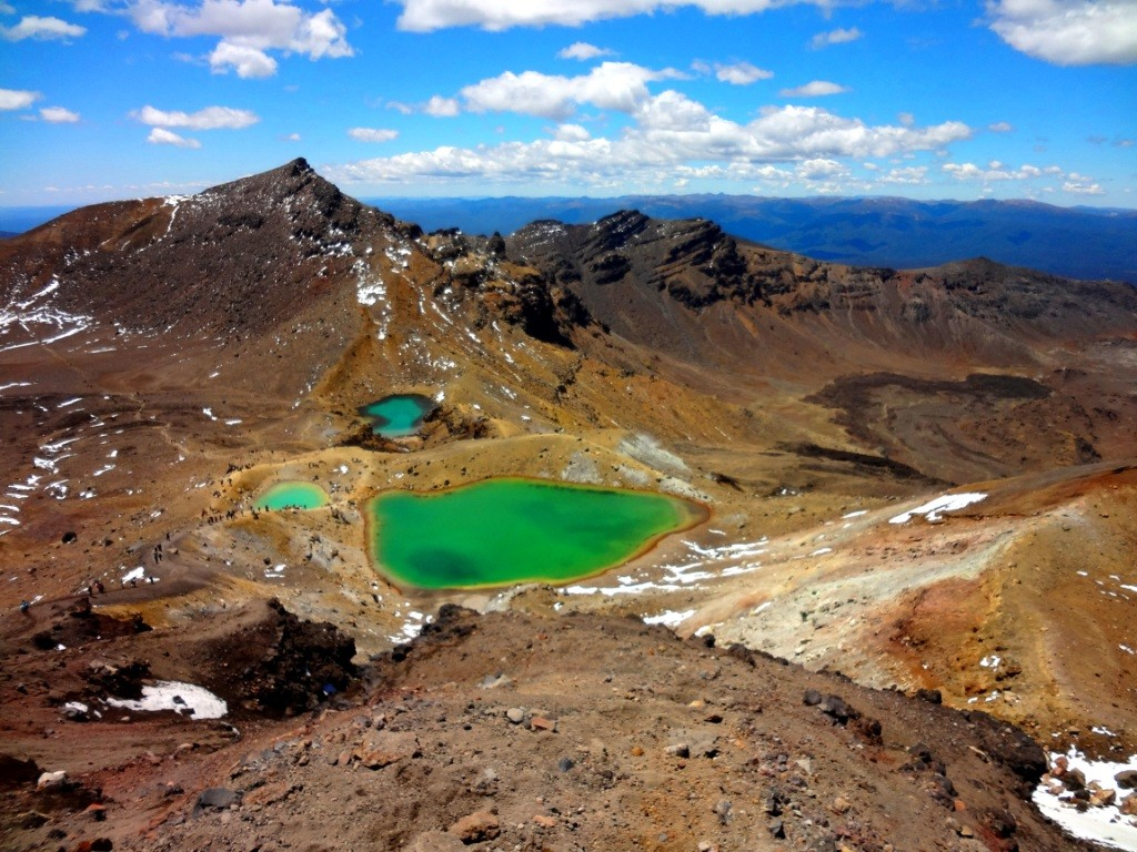 Das Neuseeland-ABC: Tongariro Alpine Crossing