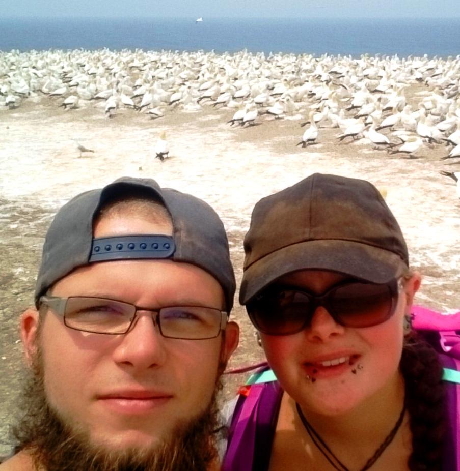 """Interviewpartner Julian und Kathi von """"Projekt Neuseeland"""""""