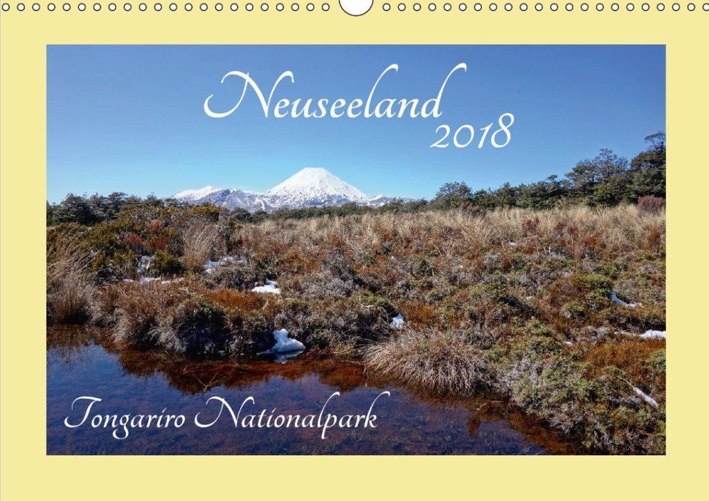 Geschenkideen für Neuseeland-Fans - Kalender: Tongariro Nationalpark