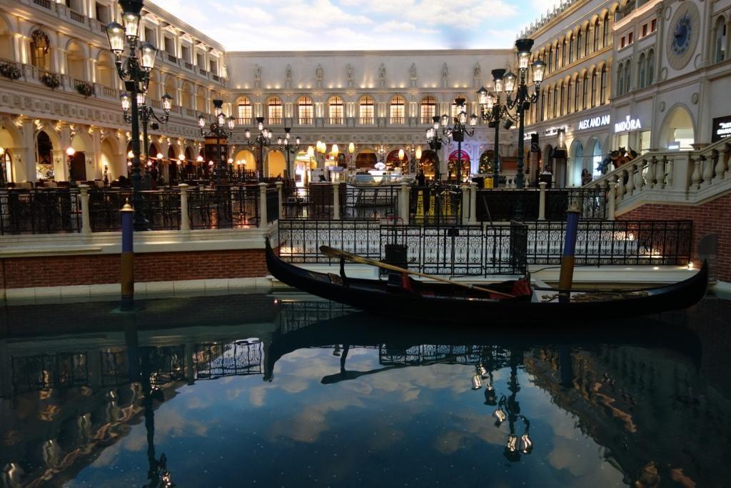 Las Vegas - Venedig bei Nacht