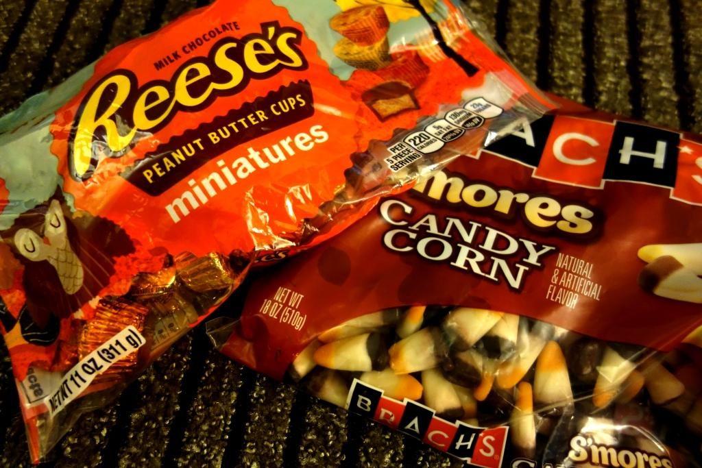 Halloween in den USA - Süßigkeiten zum Fest