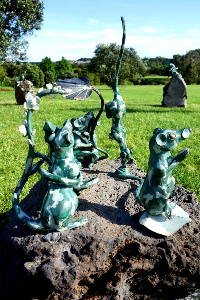 Sculpture in the Gardens - 2 - ! CELEBRATION ! (Samantha Lissette)