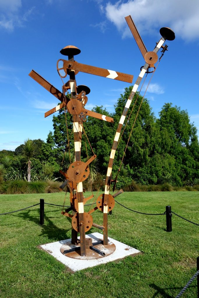 Sculpture in the Gardens - 19 - On Becoming Misdirected (Graham Bennett)
