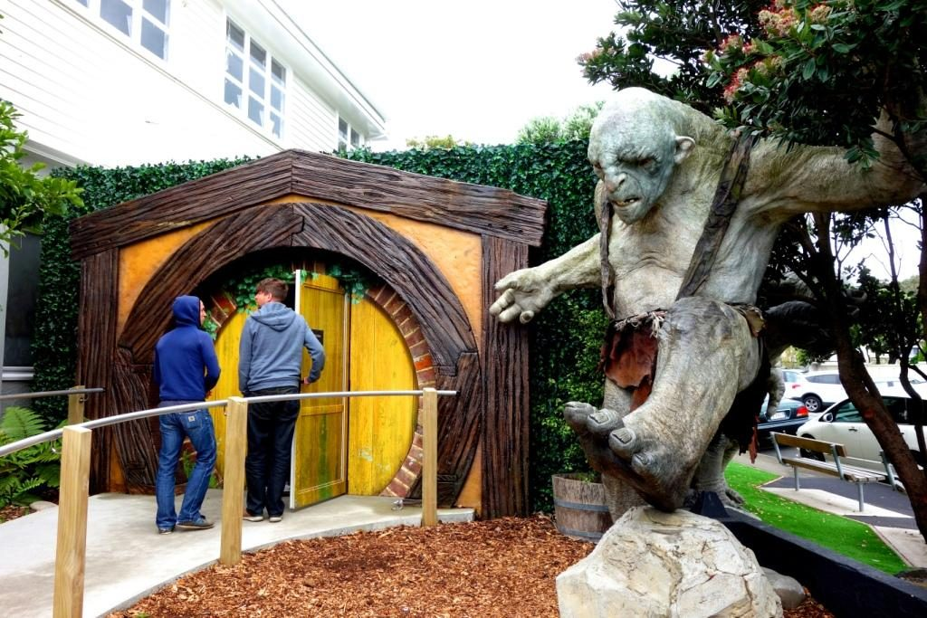 Wellington - Weta Cave in Miramar