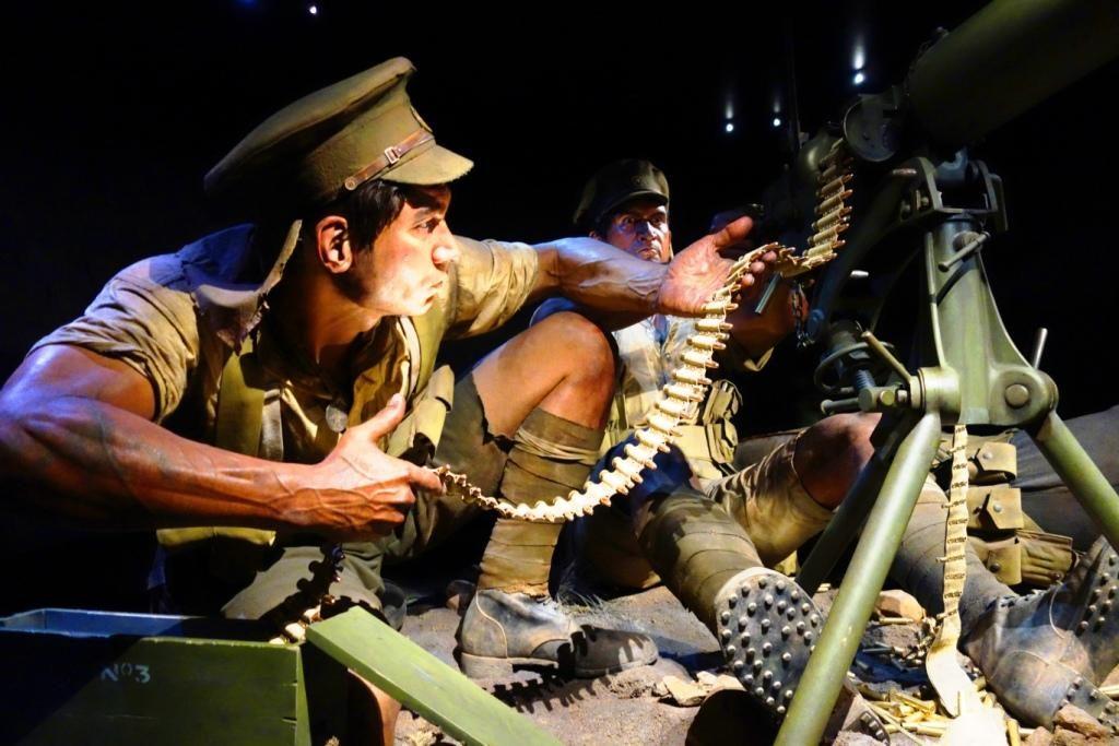 Wellington - Gallipoli-Ausstellung im Te Papa Museum