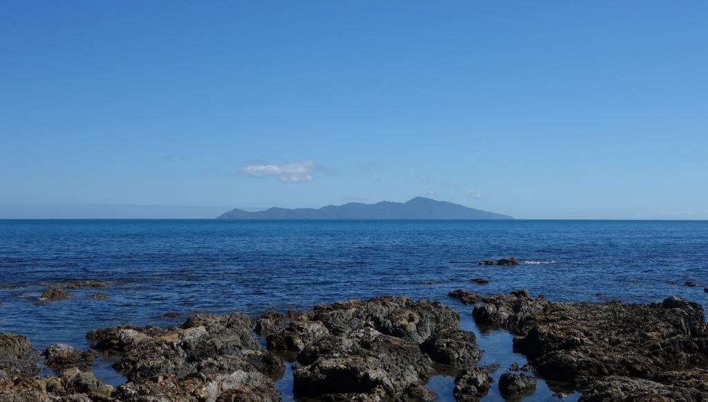 Kapiti Island - Markanter Umriss