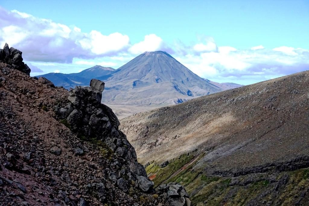 Whakapapa Skifield: Blick auf den Schicksalsberg