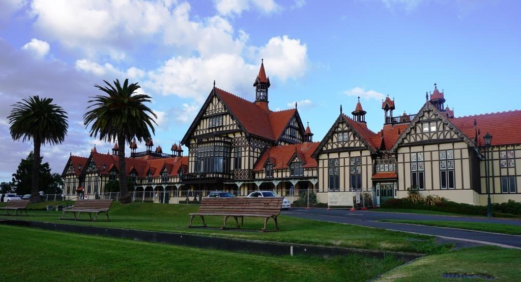 Rotorua Museum in den Government Gardens
