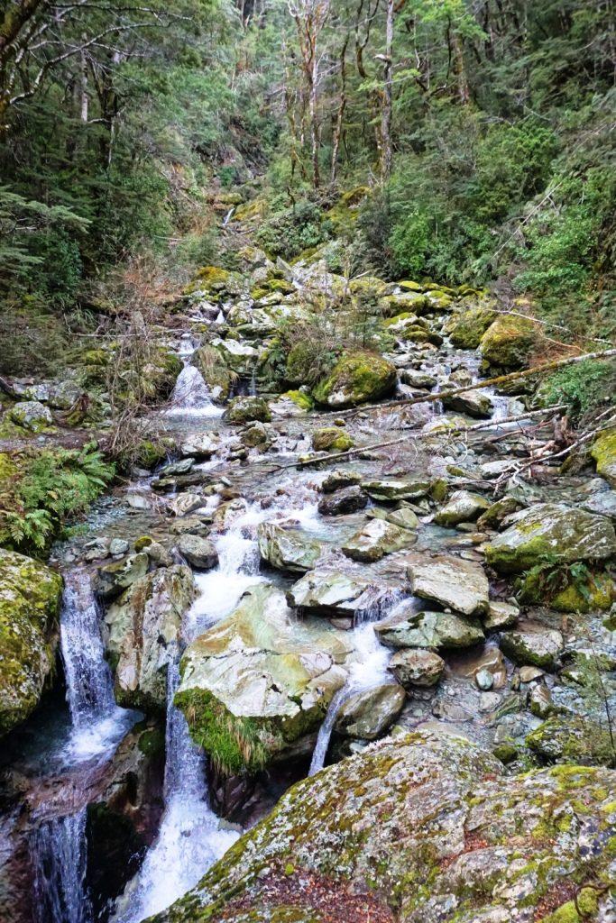 Routeburn Track - Bridal Veil Falls