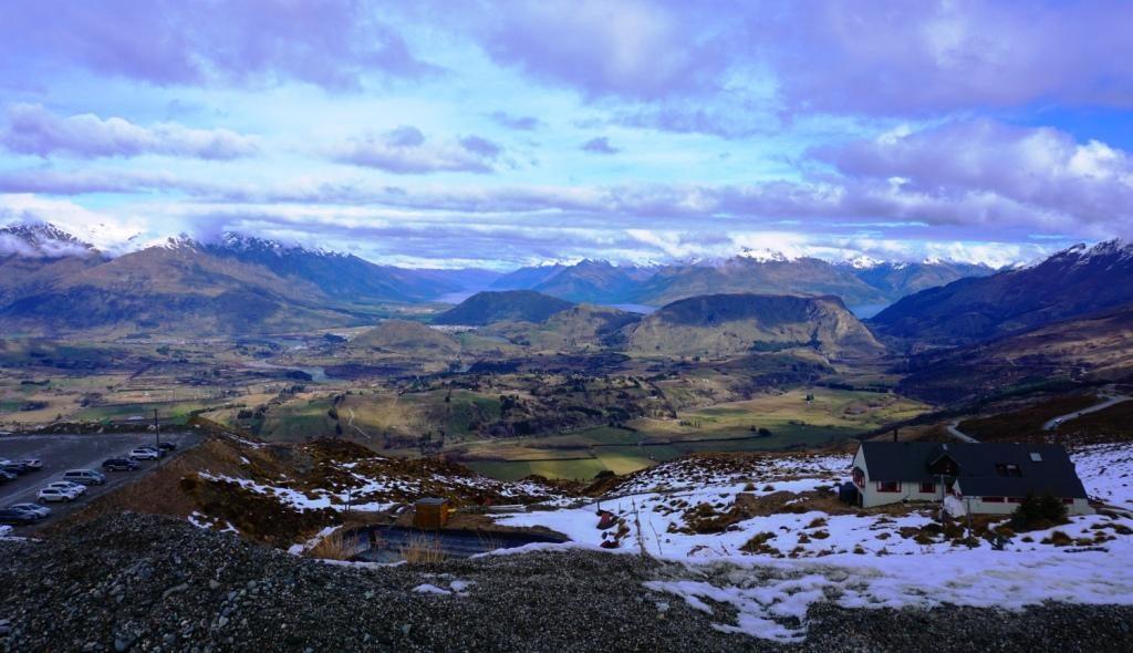 Coronet Peak - Blick ins Tal