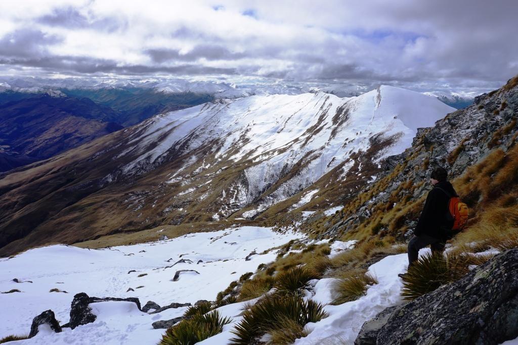 Ben Lomond Track - Blick ins Tal