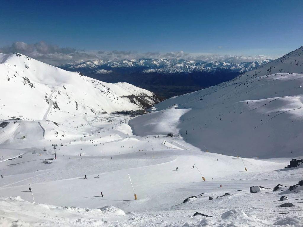 The Remarkables - Blick über das Skigebiet