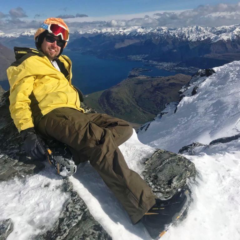 The Remarkables - Aussichtspunkt auf dem Gipfel
