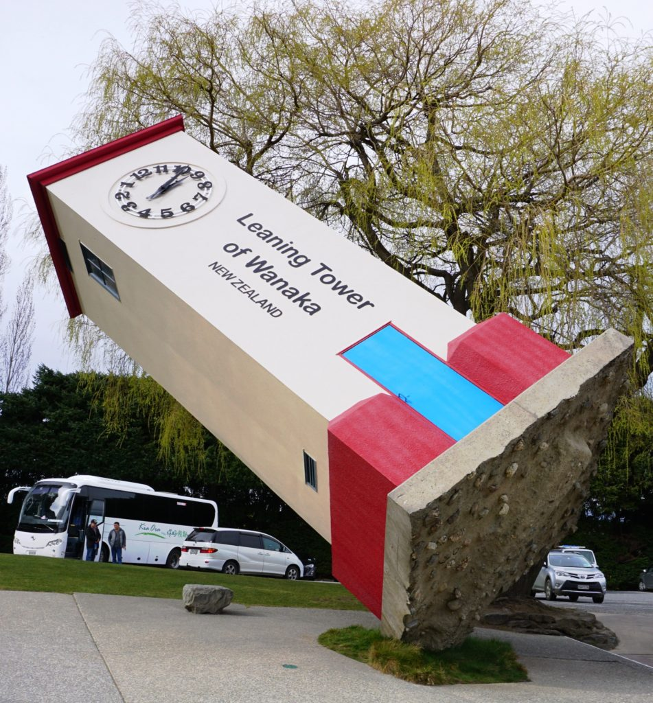 Puzzling World - The Leaning Tower of Wanaka