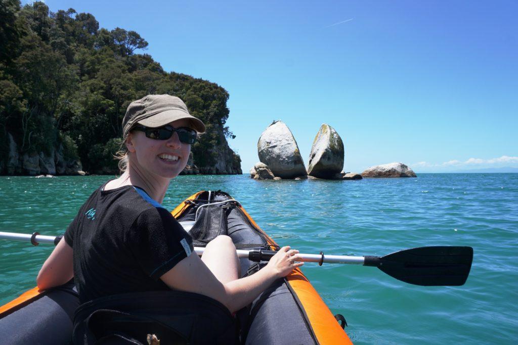 Abel Tasman Nationalpark - Split Apple Rock