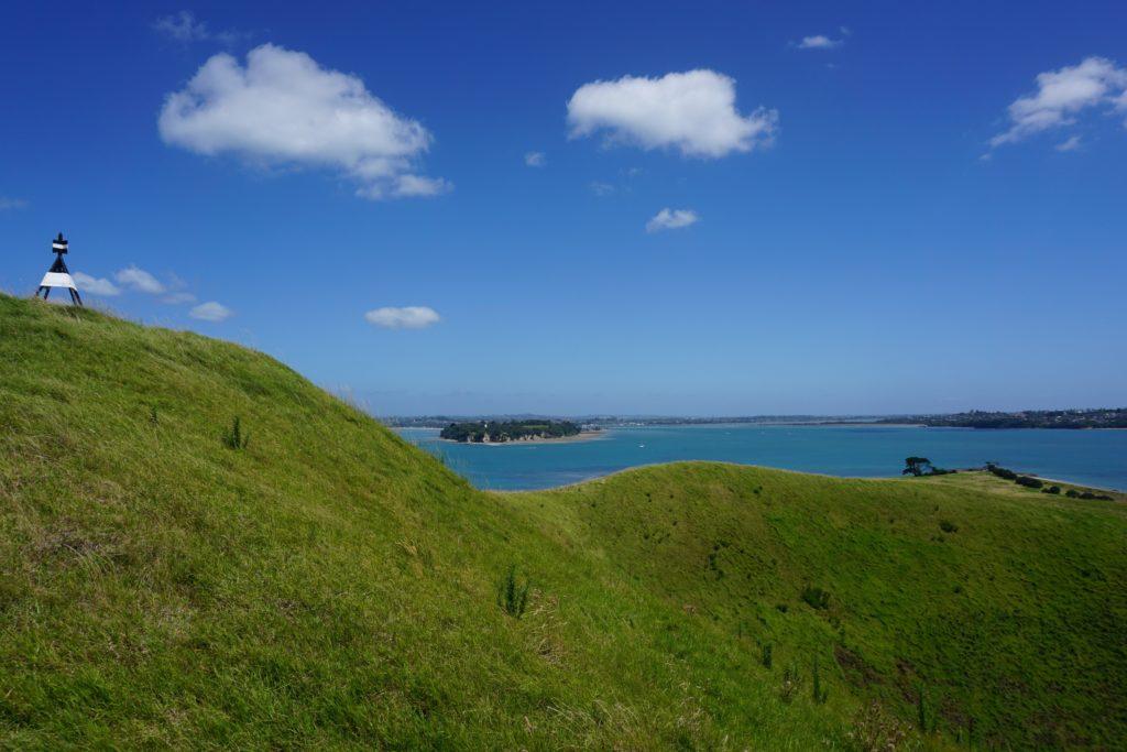Der Gipfel von Browns Island