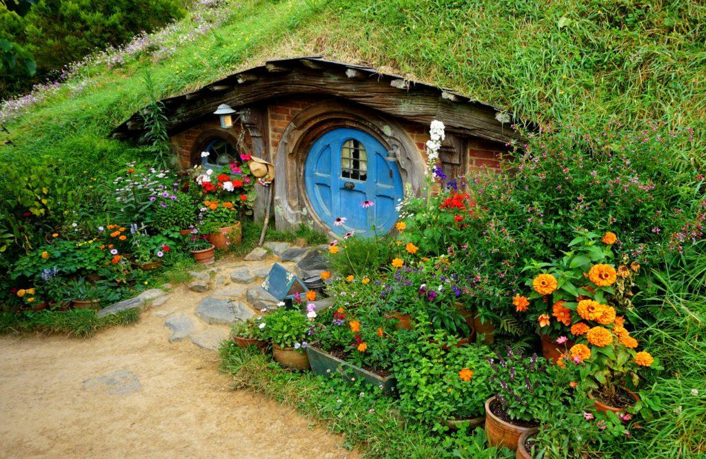 Hobbiton - Eines der Hobbithäuser