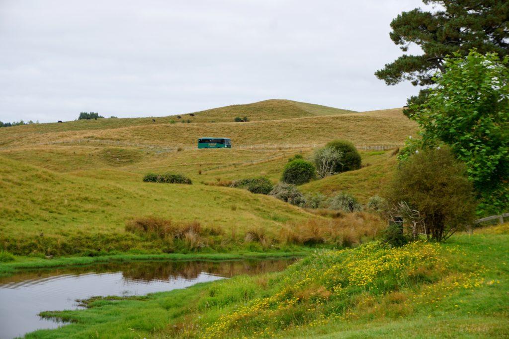 Hobbiton - Mit dem Bus durch die Farm