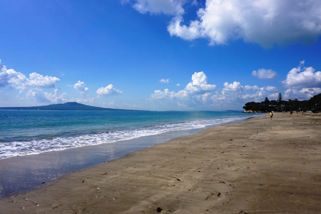 Am Strand von Takapuna