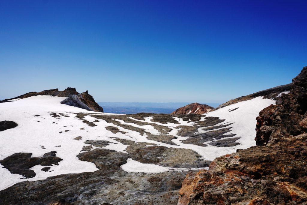 Hauptkrater von Mt Ruapehu