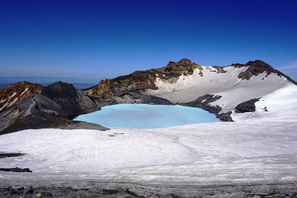 Mt Ruapehu Crater Lake