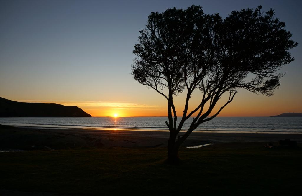 Sonnenuntergang in Port Jackson