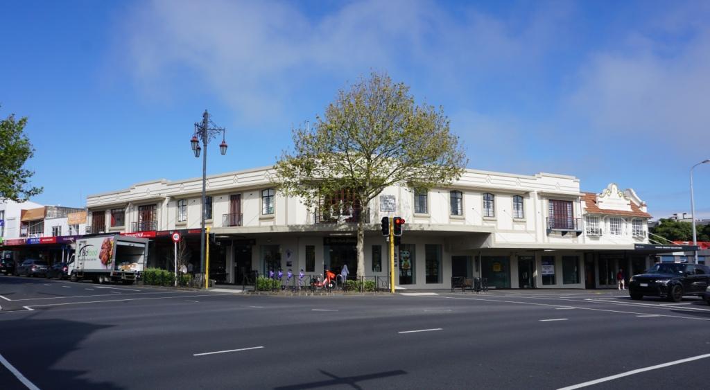 """Das ehemalige Gasthaus an der Kreuzung """"Three Lamps"""""""