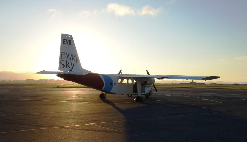 """Britten-Norman Islander - das """"Buschflugzeug"""""""