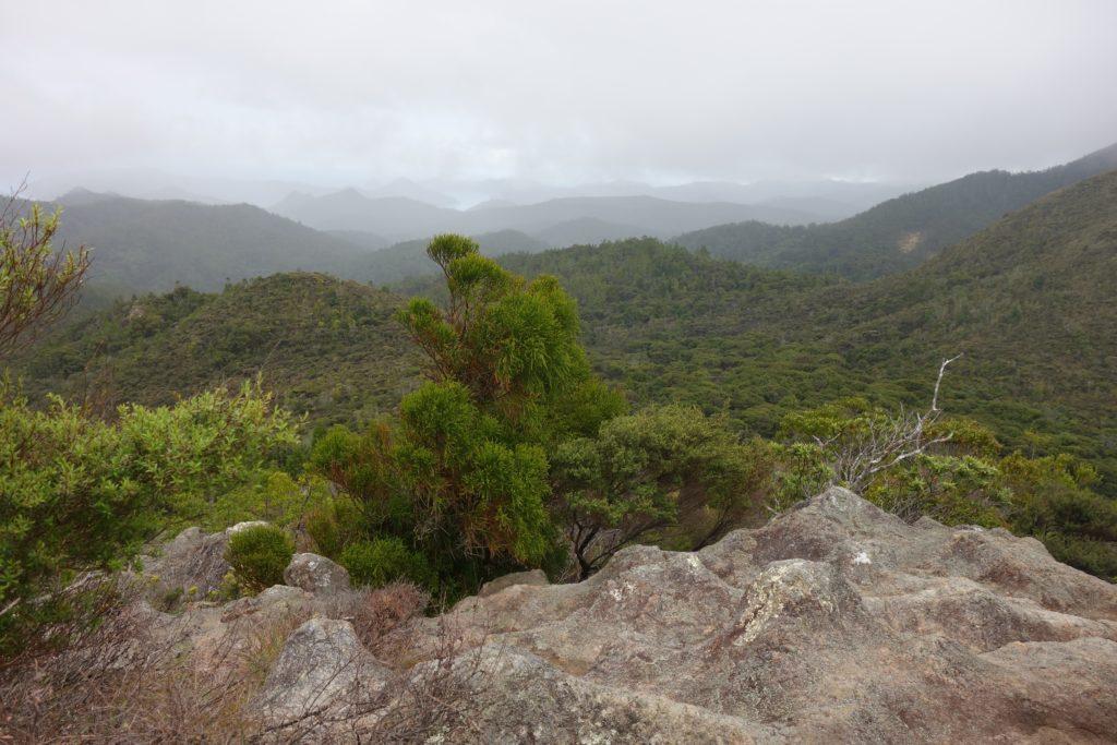 Aussichtspunkt bei Nieselregen
