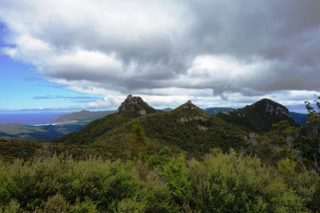 Blick vom Gipfel Richtung Süden
