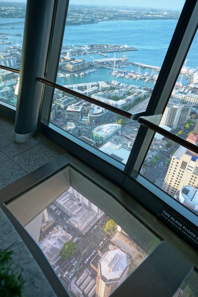 Glasboden in 186 Meter Höhe