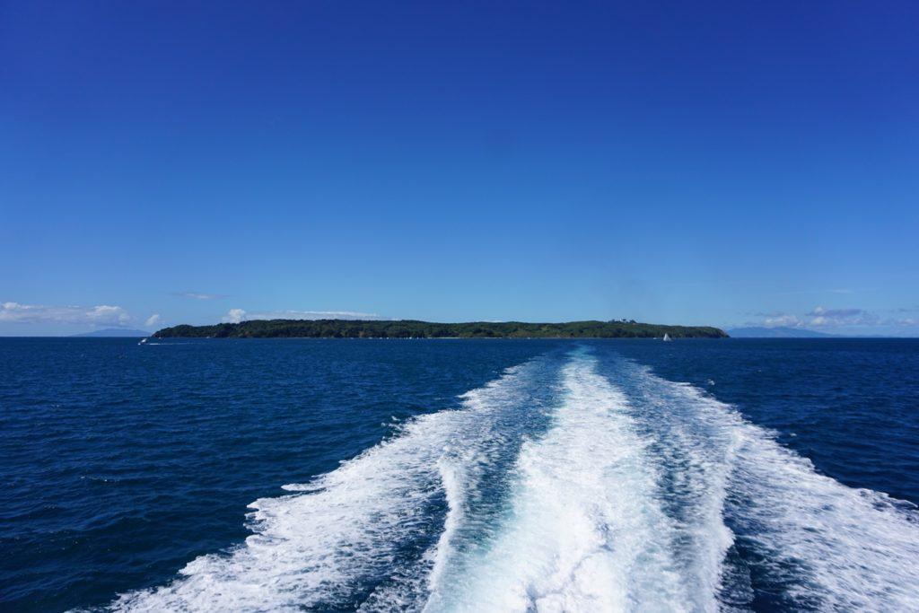Abschied von der einsamen Insel
