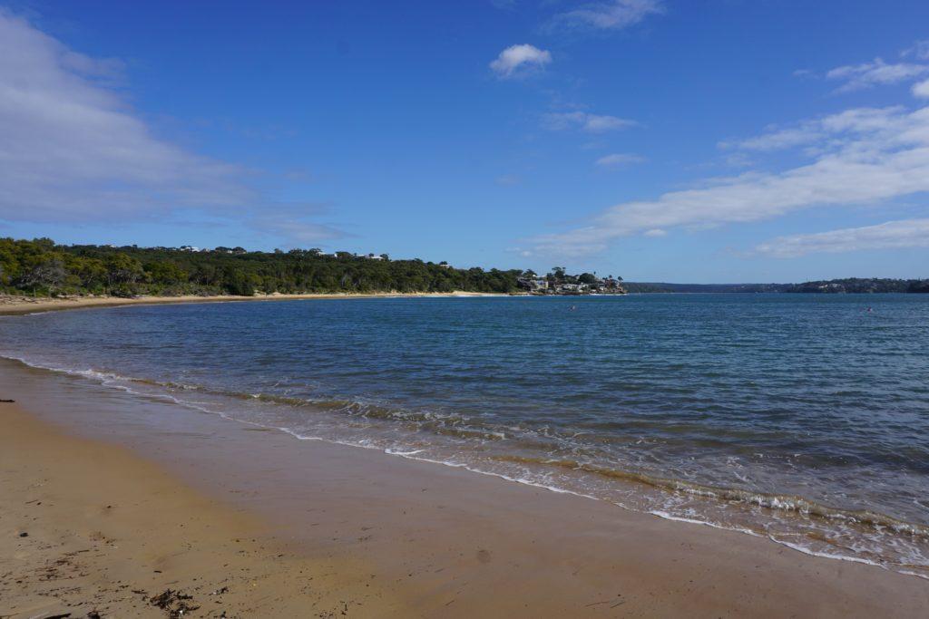 Am Strand bei Bundeena